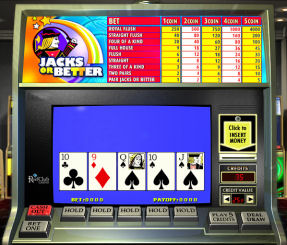Online video poker at 888 Casino