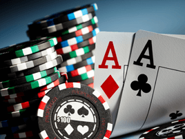 What is the root cause of gambling addiction