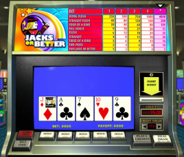 Video poker is often a better bet than playing slots